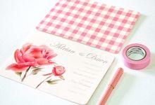 Wedding Invitation by Faith Creative Studio