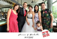 Wedding of Steven & Michelle by PLAYBOOTH
