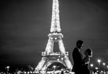 Reza & Julia - Pre wedding Paris by night by Claire Morris Photography