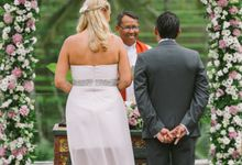 David & Aurelia by Bali Exotic Wedding Organizer