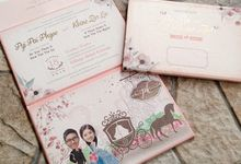 The Wedding of Pyi & Khine by Memento Card