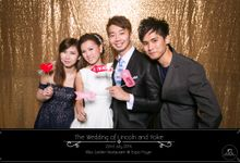Wedding Photobooth at Singapore Expo by Alan Ng Photography