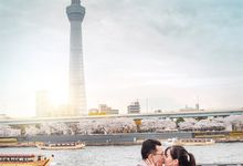 Spring Love - Japan Prewedding of Patrick & Devina by Picomo