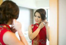 Actual Wedding Day of Sylvie & Kenneth by Lili Makeup Specialist