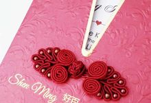 Custom Wedding Invitations by PAPEROSE WEDDING SDN. BHD.