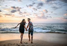 Beach Session with Kezia & Andrew by Jehovah Photography