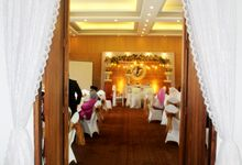 Wedding Mr Teguh & Mrs Azza by B'steak Function Hall