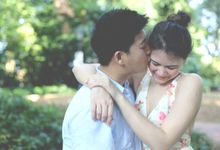 Cass & Cliff Engagement Shoot by ForYellowLemons