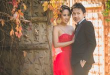 Fabian and Agnes Prewedding by Bernardo Pictura