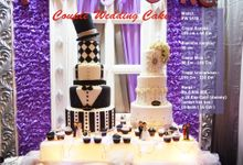 Wedding cake 5 Tiers by Pelangi Cake