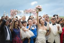 Rustic Style Over the water on the hill Wedding by BLISS Events & Weddings Thailand