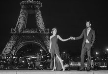 Reza & Julia - Pre wedding Paris by night by Claire Morris Photography