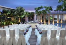 Park Hotel Clarke Quay Poolside Wedding - Evening by Park Hotel Clarke Quay
