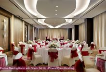 wedding package by Crowne Plaza Bandung