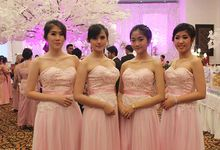 Wedding Gustaft &Dewinta by STILETTO PAGAR AYU