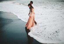 Exotic Black Sand Beach Prewedding of Paul & Marsha by fire, wood & earth