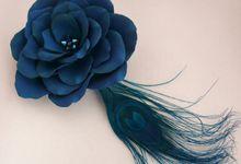 HAIR FLOWERS by theElegantdes