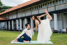Johan & Grace - Yoga-themed Pre-wedding Shoot by Cepheus Chan Photography