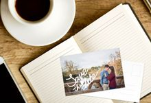 Save the Date Postcards by For the Love of Stationery