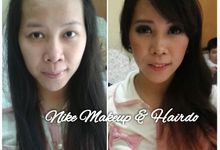 Before-after  (1) by Nike Makeup & Hairdo