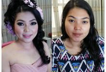 Prewedding Make Up & Hair Do by Nikita Anggoro