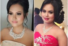 Ria and Anton wedding day by Xinxin Make Up