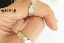 Wedding Rings by Semar Jawa