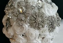 """Krystal"" Forever Bling Bouquet by BodyWerk Jewels"
