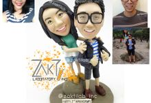 Clay figure by Zakti Laboratory Inc
