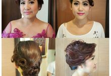Party Make Up & Hair Do by Nikita Anggoro