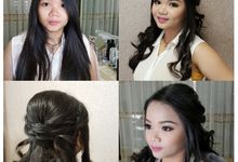 Sweet seventeen Make Up & Hair Do by Nikita Anggoro