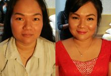 Before-after 2 by Nike Makeup & Hairdo