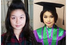 Graduation Make Up & Hair Do by Nikita Anggoro
