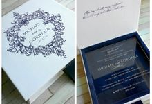 acrylic invitation by Vinas Invitation