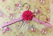 Decorative Baby Hangers by Wedding Hanger Bali
