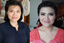 Makeup for ci Astrid and ci Vicky by Sherly Sadikin MakeUp