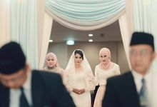 Amzad & Anandia Wedding Day by VOI&VOX Photography
