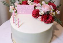 FLORAL CAKE FEATURING JOLIESFLOWER by Sucré Pâtissier and Chocolatier