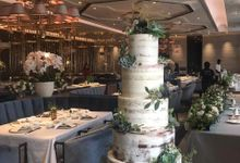 Wedding Cake - Giovanni & Monica by Lareia Cake & Co.