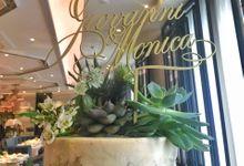 Wedding Cake - Giovanni & Monica by Lareia Cake & Co.