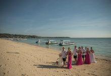 Rachel Harris Wedding by Lembongan Beach Club and Resort