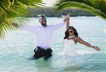 Charlene & Elorge at Shandrani Resort Mauritius by Photography Mauritius