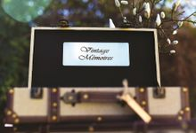 Working with wedding stylists by Vintage Memoires