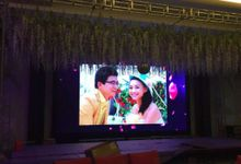 Event Wedding and Gala Dinner by Cerahindo LED (PT Cerah Audio Visual Tehnik)
