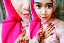 henna engagement by Henna Art Cikarang By Anita