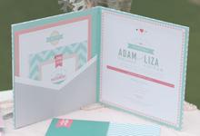 Adam & Liza by Athaya Gallery