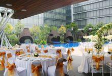 Wedding at The Pool by Hilton Bandung