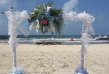 Taylor Beach Wedding by Plan-it Jaxe