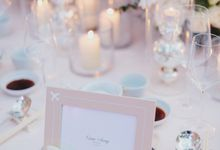 PRETTY IN PINK by The Wedding Atelier
