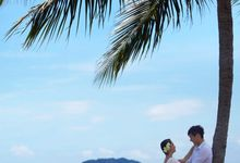 Engagement Shoot by Shangri-La's Tanjung Aru Resort & Spa